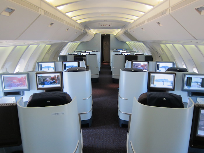 Klm 747 Business Class Amsterdam To Chicago One Mile At