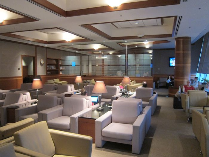 Review Korean Air Lounge New York Jfk One Mile At A Time