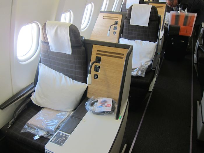 Swiss A330 Business Class Zurich To Beijing One Mile At