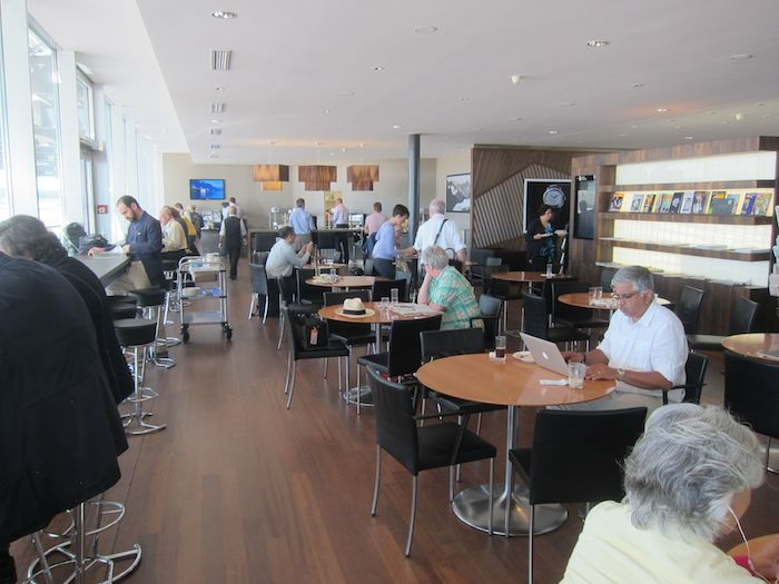 Review Swiss Panorama Lounge Zurich One Mile At A Time
