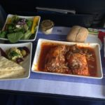 Us Airways First Class Meal