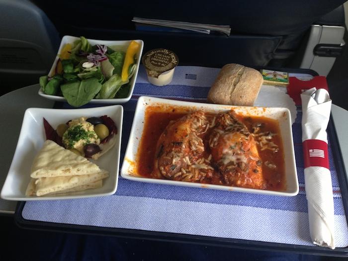 Delta Airlines Business Class Food Menu