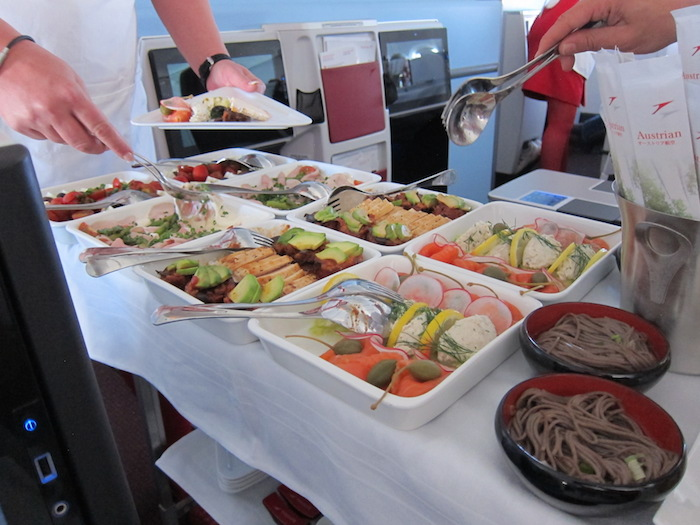 Austrian-Business-Class-Catering