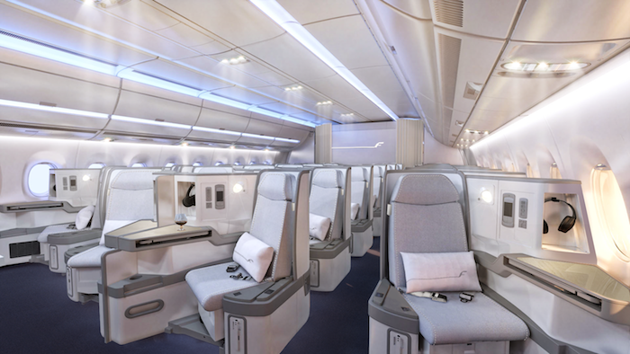 Finnair A350 Business Class 1