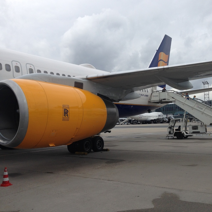 Icelandair Business Class 1