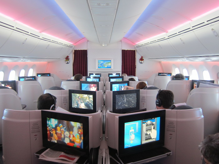 Qatar Airways 787 Business Class 11