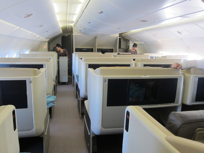 Best Singapore Airlines A380 Business Class Seat One