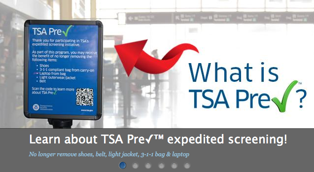 Tsa To Start Limiting Pre Check Eligibility One Mile At