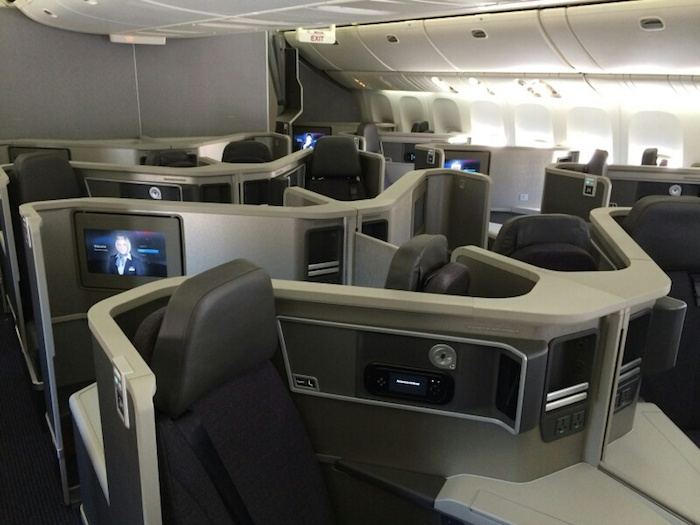 American s New 777 200 Business Class First Picture e