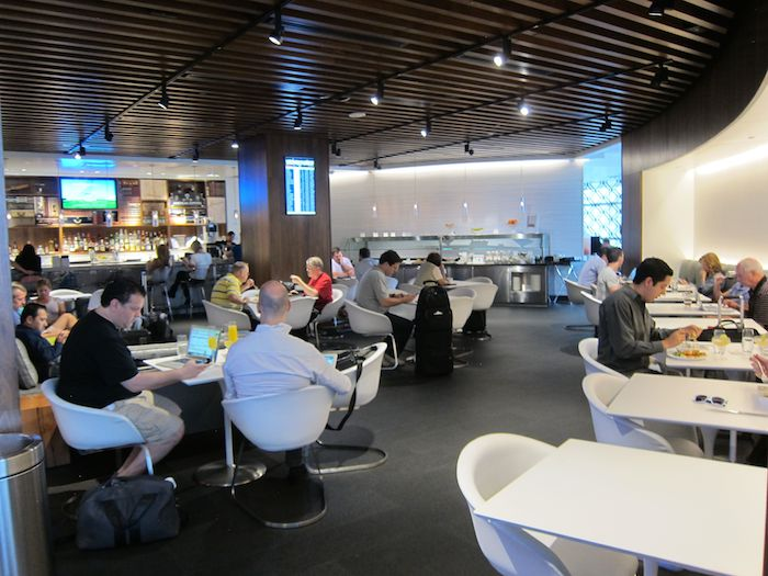 Review Amex Centurion Lounge Las Vegas Airport One Mile