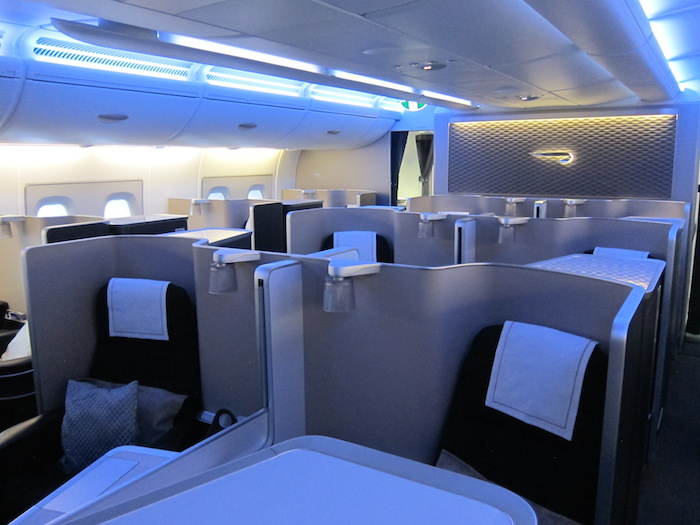 why did british airways rescind their free first class