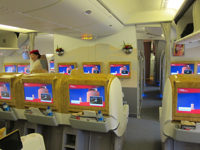 Emirates 777 Business Class 1