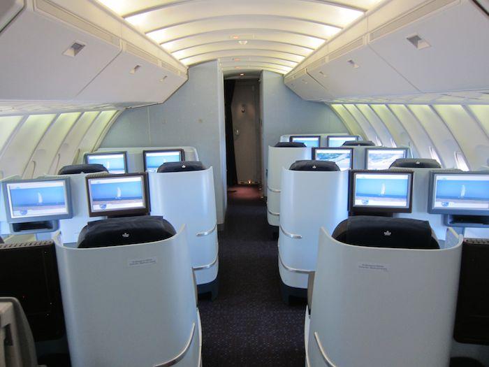 Klm Business Class 747 03