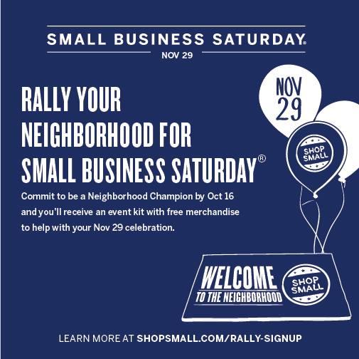 Small Business Saturday 1