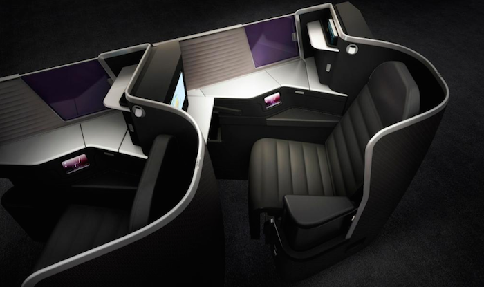 Virgin Australia New Business Class 1