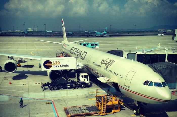 Etihad A340 600