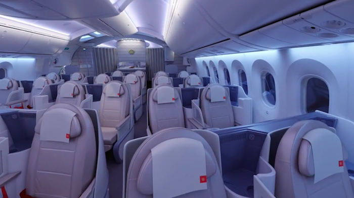 Royal Jordanian 787 Business Class 1