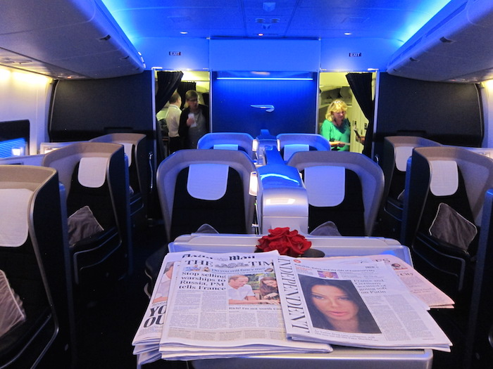 British Airways 747 First Class