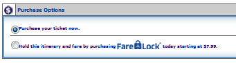 Fare Lock is available for $7.99