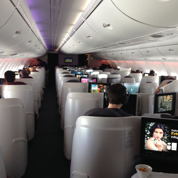 Qatar Airways A380 First Class 039