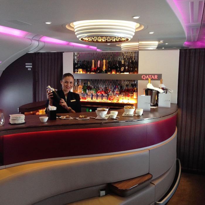 Qatar Airways A380 First Class 077