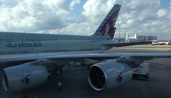 Qatar Airways A380 First Class 113