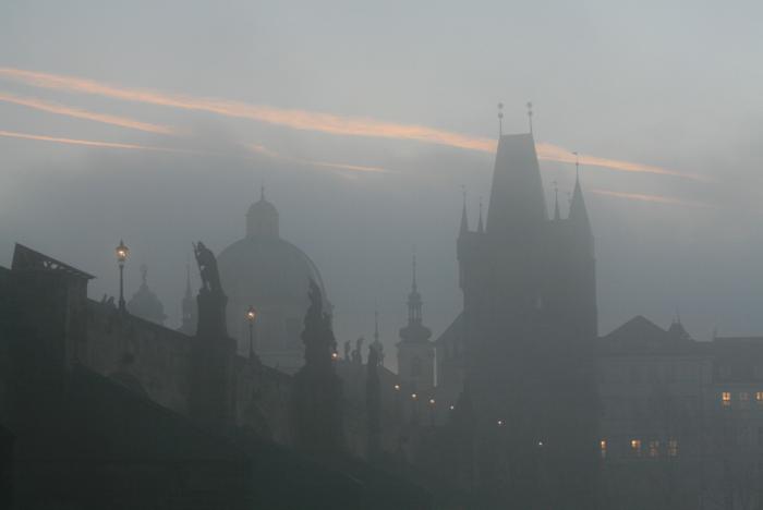 Prague-sunrise
