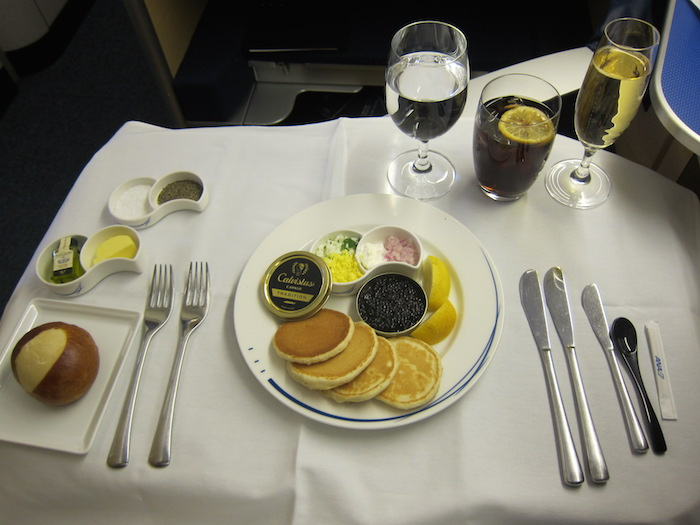 ANA-First-Class-Food