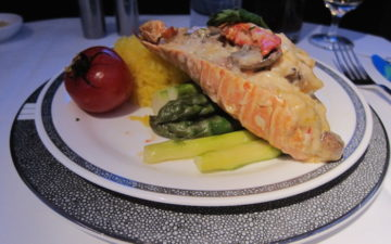 Singapore Airlines Lobster Thermidor 1