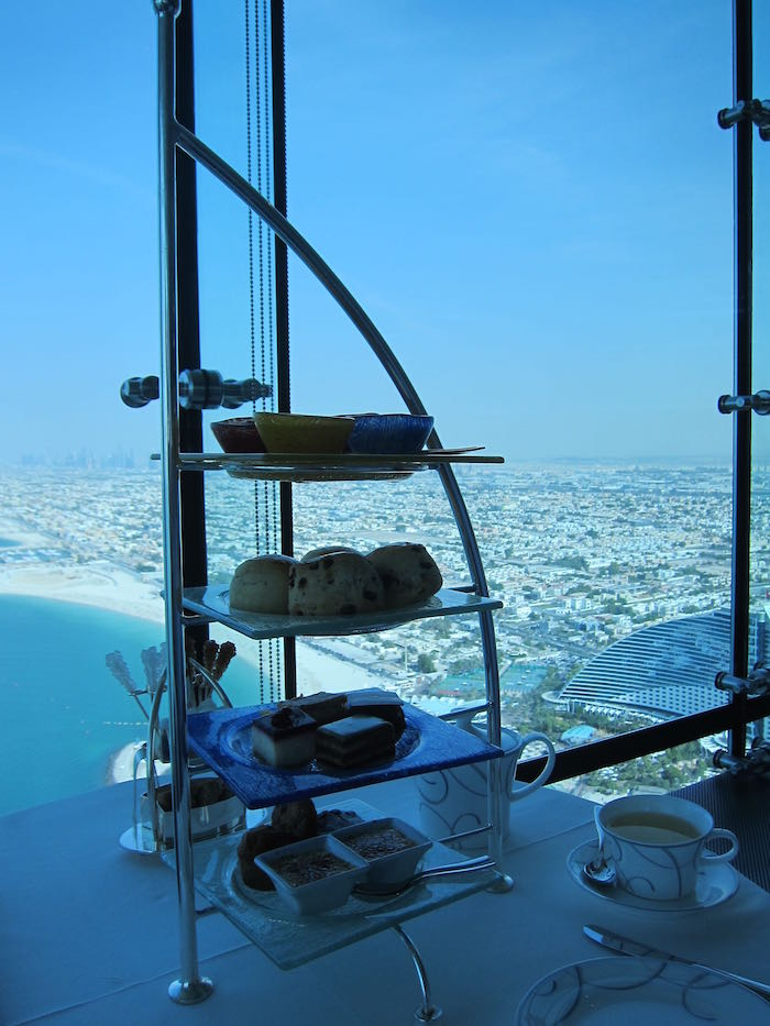Review Afternoon Tea At Skyview Bar Burj Al Arab One