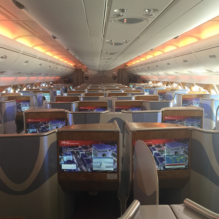 2 Class Emirates A380 Seatmap Revealed One Mile At A Time