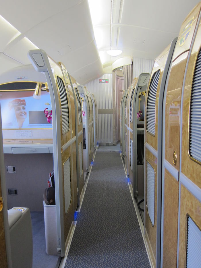 Emirates First Class A380 Singapore 04