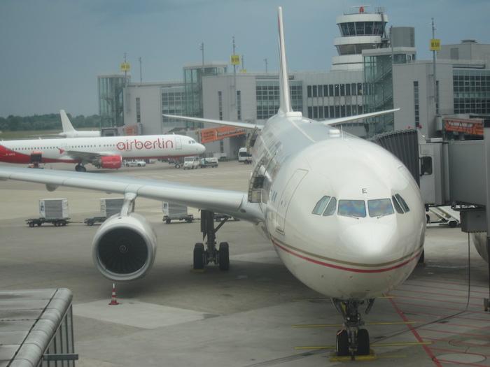 Etihad A330 Dusseldorf
