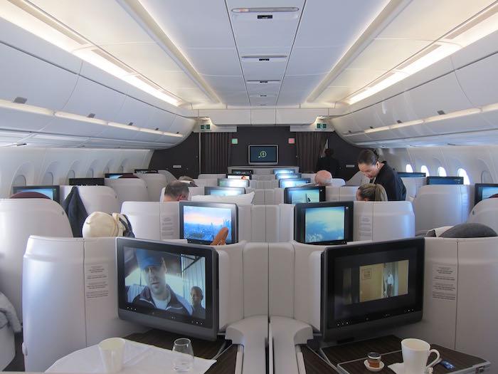 Qatar Airways A350 Business Class Inaugural Flight One
