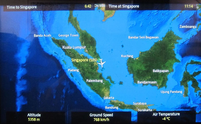 Review: Singapore Airlines First Class 777-300ER Singapore ...