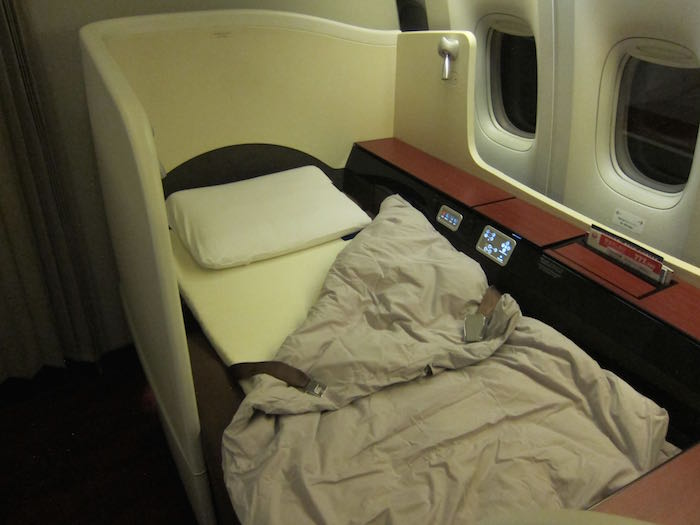 Japan Airlines First Class 09