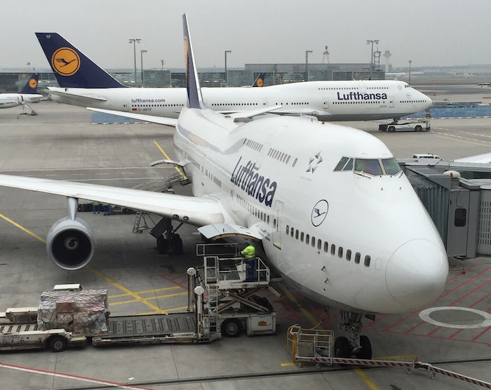 lufthansa is operating domestic 747 flights for a limited time one mile at a time. Black Bedroom Furniture Sets. Home Design Ideas