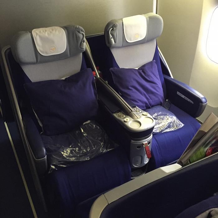 Lufthansa Business Class 1