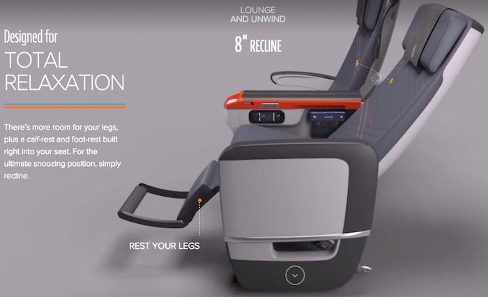 Singapore Airlines Premium Economy 7