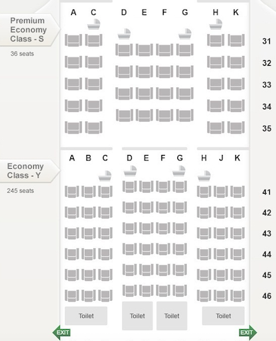 Singapore Airlines New Premium Economy Details (777 & A380) - One ...