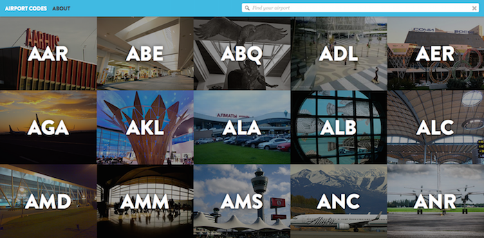 Airport Codes 1