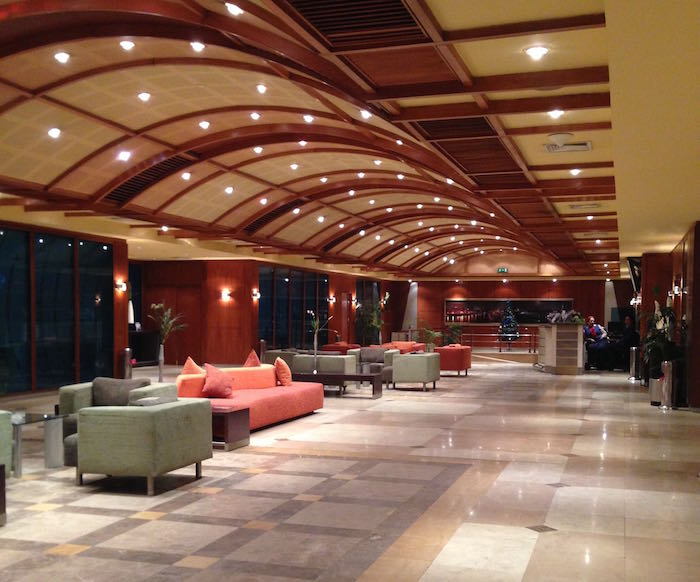 Review cairo airport ahlan vip service one mile at a time for Best airport lounge program