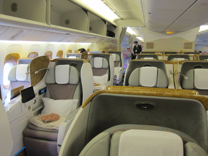 Emirates Business Class 1