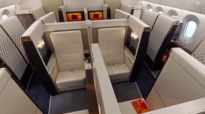 Etihad 787 First Suite