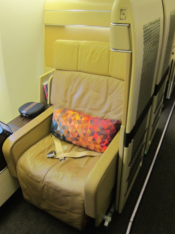 Review Etihad Airways First Class 777 300er London To Abu