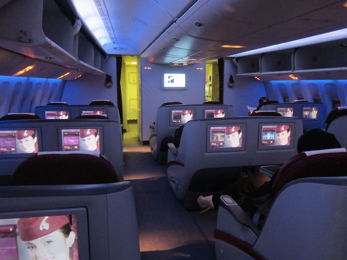 Qatar Airways 777 Business Class 06