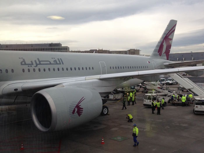 Qatar Airways A350 Business Class 96