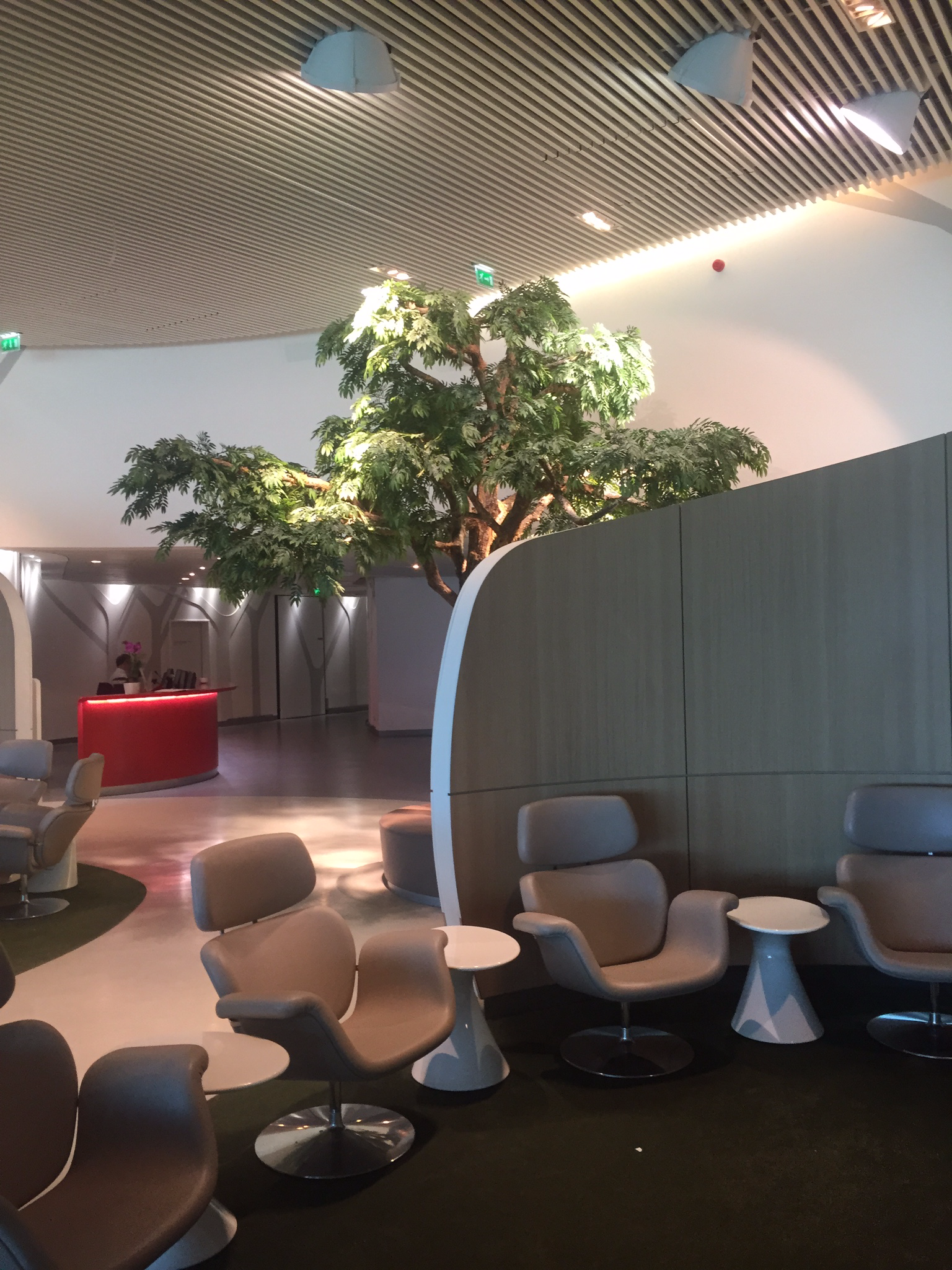 Review Air France Business Class Lounge Paris One Mile