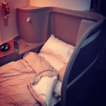 Cathay Pacific Bed