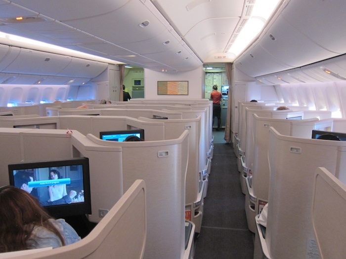cathay pacific new business class interior classes Cathay Pacific Business Class 777 8